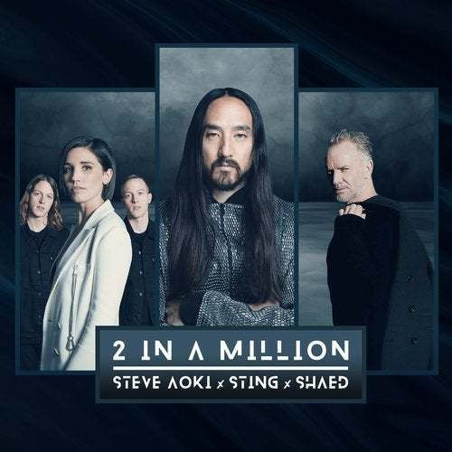 Shaed: 2 In A Million - Steve Aoki, Sting & Shaed