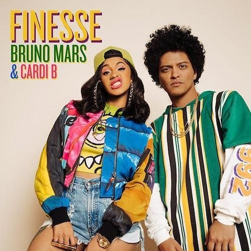 Bruno Mars  Ft Carrdi B