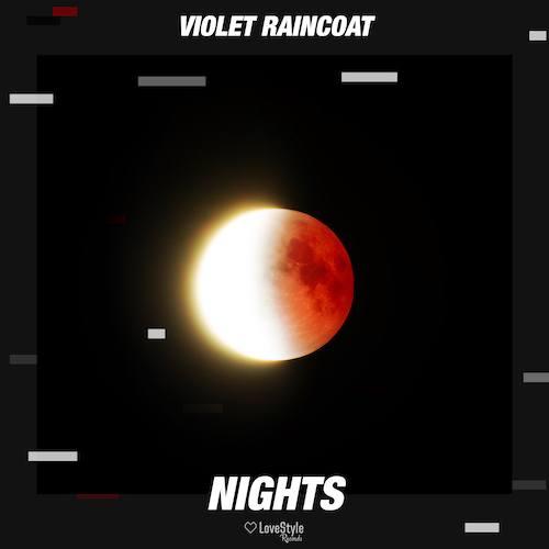 Violet Raincoat